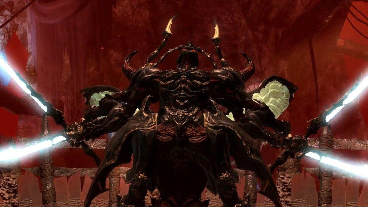 Final Fantasy XIV Heavensward Ravana Hard Machinist Gameplay YouTube