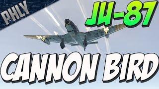 CANNON BIRD - Ju-87 D-5 (War Thunder Plane Gameplay)