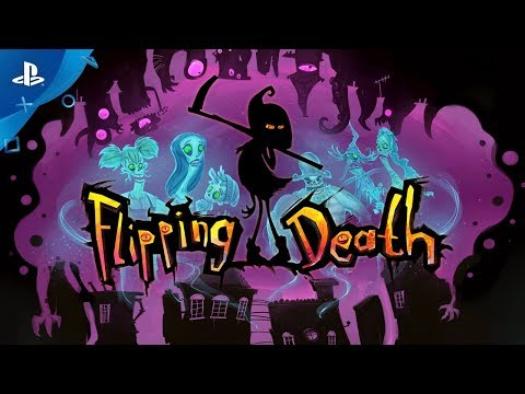 Flipping Death - PSX 2017: Announcement Trailer | PS4