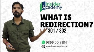 What is URL Redirection? 301 vs 302 Redirect | Digital Marketing Training in Delhi | 9899 00 8184