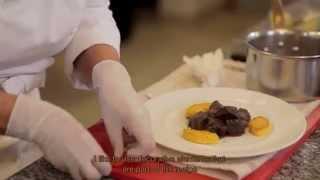 Reine Sammut   Beef Cheek In A Lemon Daube Sauce With Polenta Cakes - Déc. 2014