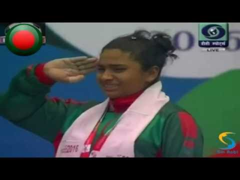 Mabia Akter Simanto wins first gold for Bangladesh in SA Games 2016