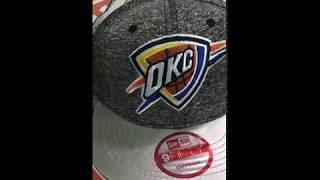 SnapBack Oklahoma City Thunder (кепка обзор)