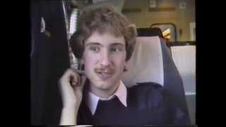 På vej hjem med Lyntoget 1989