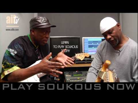 KAWELE & JJ  DISCUSSING SOUKOUS GUITAR STYLE PT1