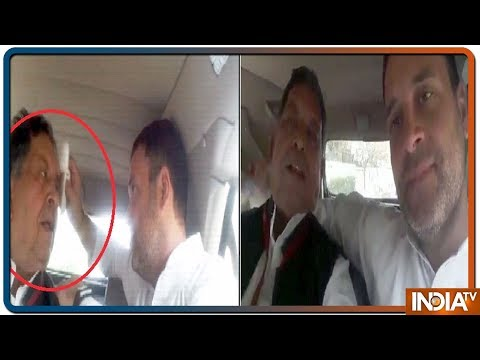Rahul Gandhi Takes Injured Journalist To AIIMS, Video Goes Viral
