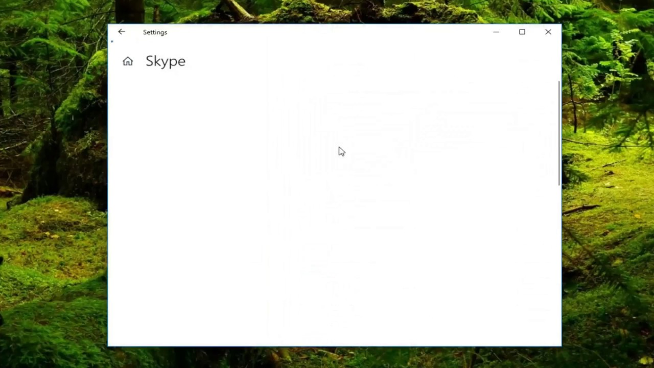 How To Fix Skype Closing Itself In Windows 10