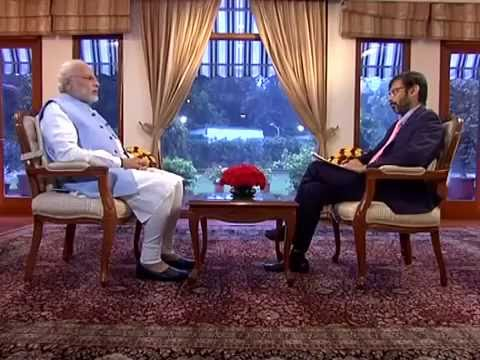 PM Modi's interview to Network 18