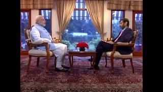 PM Modi�s interview to Network 18