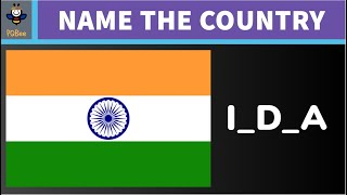 Guess the Country by its National Flag