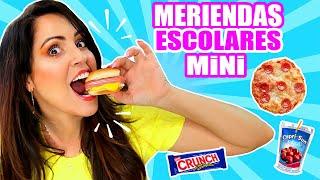 PROBANDO MERIENDAS para la ESCUELA! Comida Miniatura - SandraCiresArt