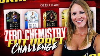 THE 0 CHEMISTRY FUT DRAFT CHALLENGE! FIFA 18 ULTIMATE TEAM