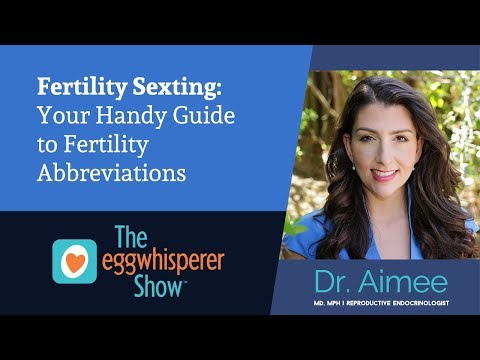 Fertility Sexting: Your Handy Guide to Fertility Abbreviations