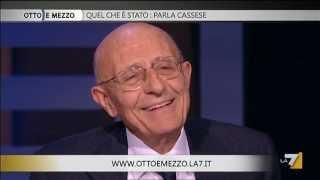 Otto e mezzo : 25/nov/2011 - Ospite Sabino Cassese