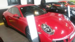 Porsche Carrera 4 GTS 2017