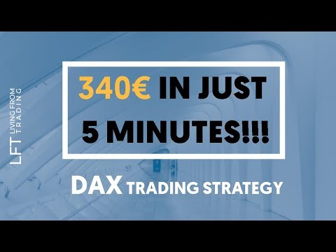DAX trading: 340€ in 5 minutes