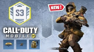 *NEW* CALL OF DUTY MOBILE SEASON 3 REWARDS & ULTRA RAPID FIRE GAME MODE!!