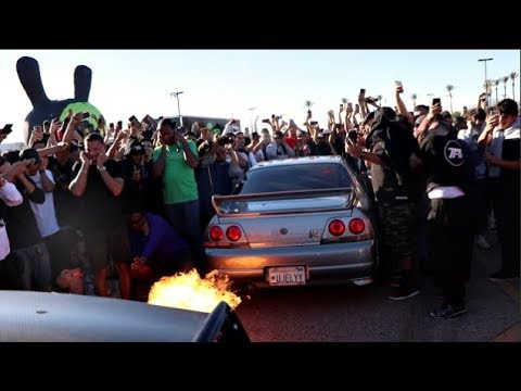ef9875ccc66a R33 GTR Takes Down The Worlds LOUDEST Supra! 2-Step Battle Of The Year