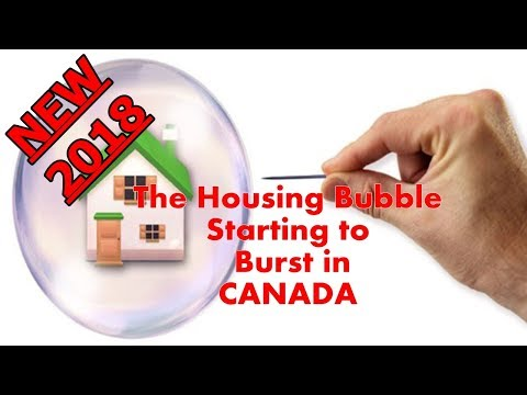 ALERT!!! The Housing Bubble Starting to Burst in CANADA, Prices Are Falling Quickly /// 2018