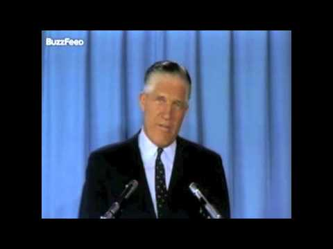 George Romney 1968 Presidential Announcement