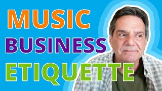 TAXI Music CEO Q&ampA and Music Business ETIQUETTE