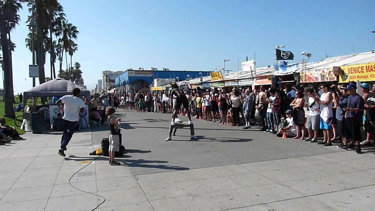 Venice Beach California Entertainment Calypso Tumblers Raymond Bartlette Chris Winnegar