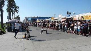 Venice Beach California Entertainment / Calypso Tumblers Raymond Bartlette / Chris Winnegar