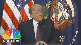 President Donald Trump On Supporting Veterans: 'The Fact Is I've Done A Lot' | NBC News