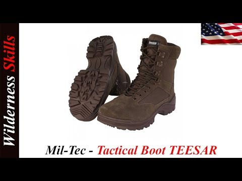 cbdef588808 Mil Tec Tactical Boots Review English Version