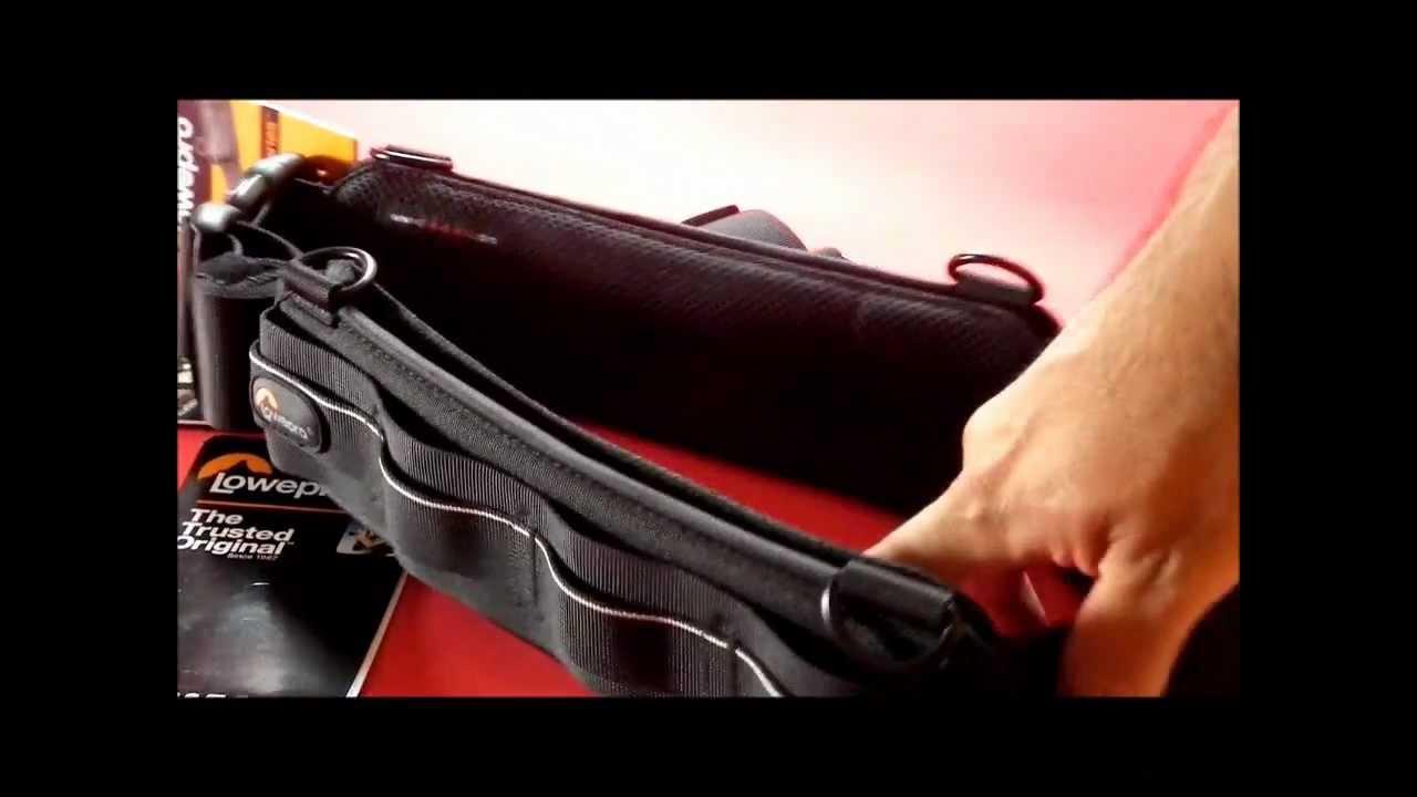 Lowepro S Amp F Light Utility Belt Review English Subtitled