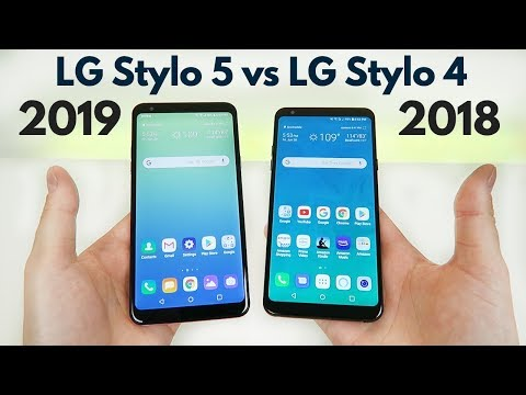 LG Stylo 5 vs LG Stylo 4 - Hands on Comparison // What's Different?