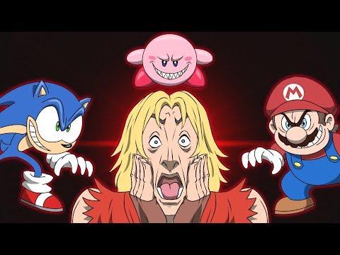 Ken Joins Smash Bros - Super Smash Bros Ultimate Animation Parody - GAME SHENANIGANS thumbnail