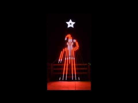 Musical Christmas Light Show for 12 CCR tree to It's Beginning to Look a lot like Christmas