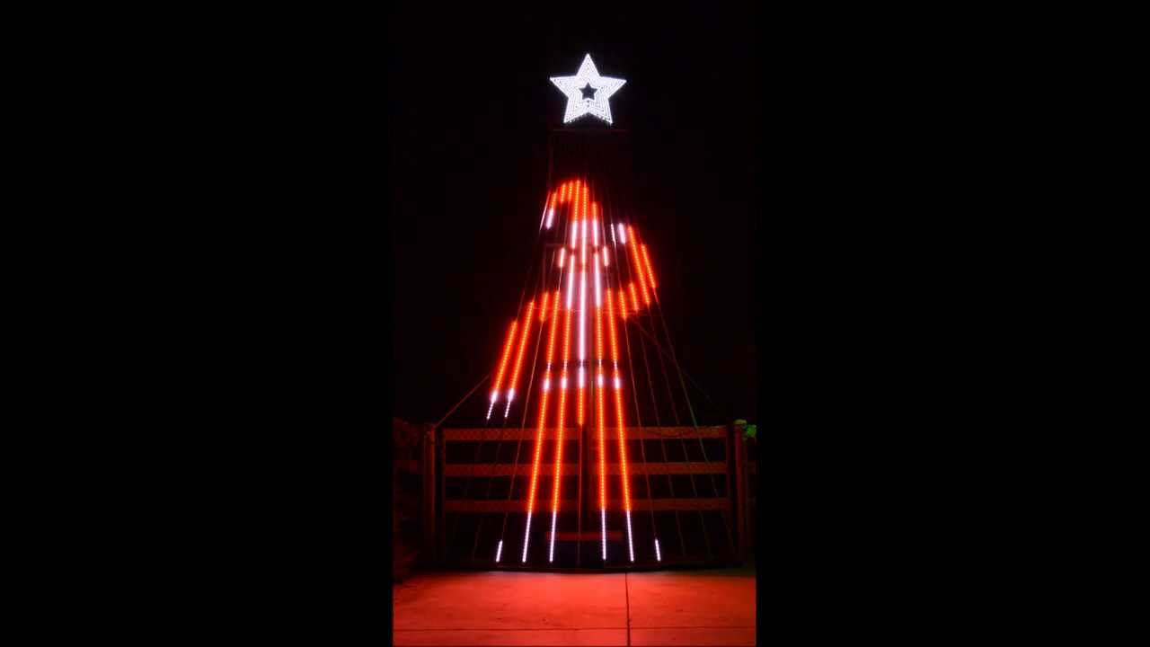 Musical Christmas Light Show For 12 CCR Tree To It's