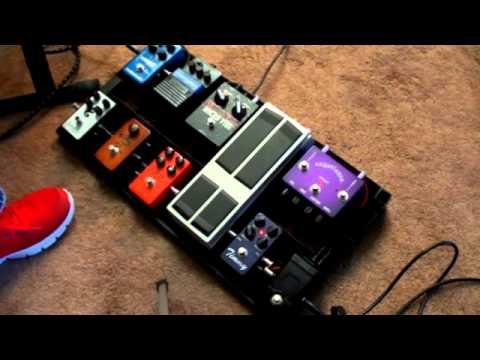 Pedalboard Demo Griff Hamlin 11-2012