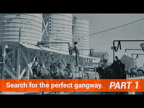 Part 1 - Search For The Perfect Gangway  - SafeRack's G4 Safety Gangways.