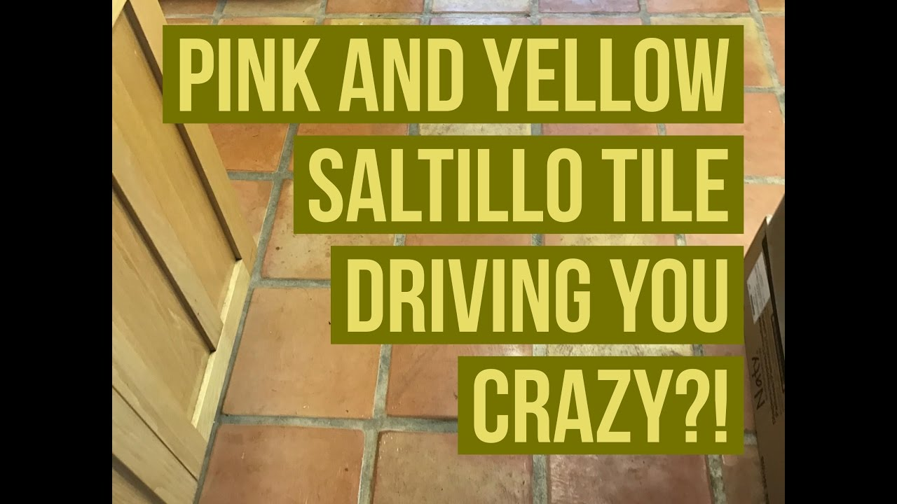 You can custom stain saltillo tiles any color you like youtube you can custom stain saltillo tiles any color you like california tile restoration dailygadgetfo Choice Image