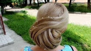 видео Красивые свадебные прически (фото)