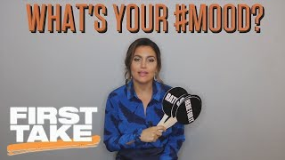 Molly Qerim Plays What's Your #Mood | First Take | ESPN