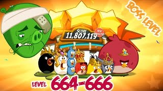 Angry Birds 2 Cobalt Plateaus Hamberg – LEVEL 664–666 BOSS LEVEL CHEF PIG