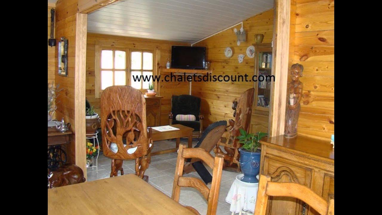 Aimeriez vous vivre dans une maison en bois de www chaletsdiscount com youtube