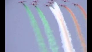The Indian Air Force - Suryakiran Aerobatic Team (Music by Les Lewis)