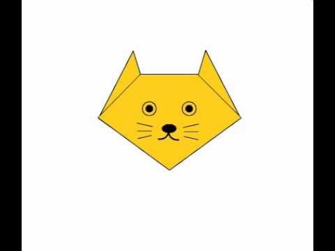 Как сделать мордочку кошки 905