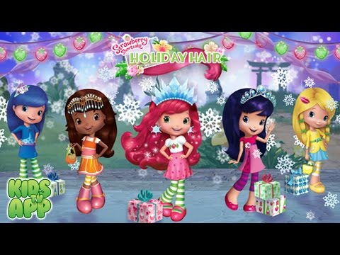 Strawberry Shortcake Holiday Hair - Fashion World (Budge Studios) - Best App For Kids
