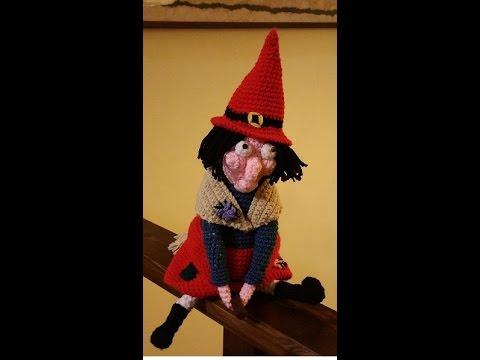 Tutorial Amigurumi Bruja Witch : Tutorial befana amigurumi uncinetto - Epifan?a crochet ...