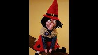 Tutorial Befana Amigurumi Uncinetto - Epifanía Crochet - Epiphany Crochet Amigurumi