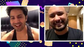 Varun Dawan gets emotional while B Praak sings | Varun Dhawan