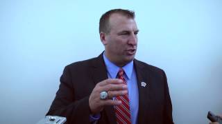 Big Ten Media Days: Bret Bielema Press Conference