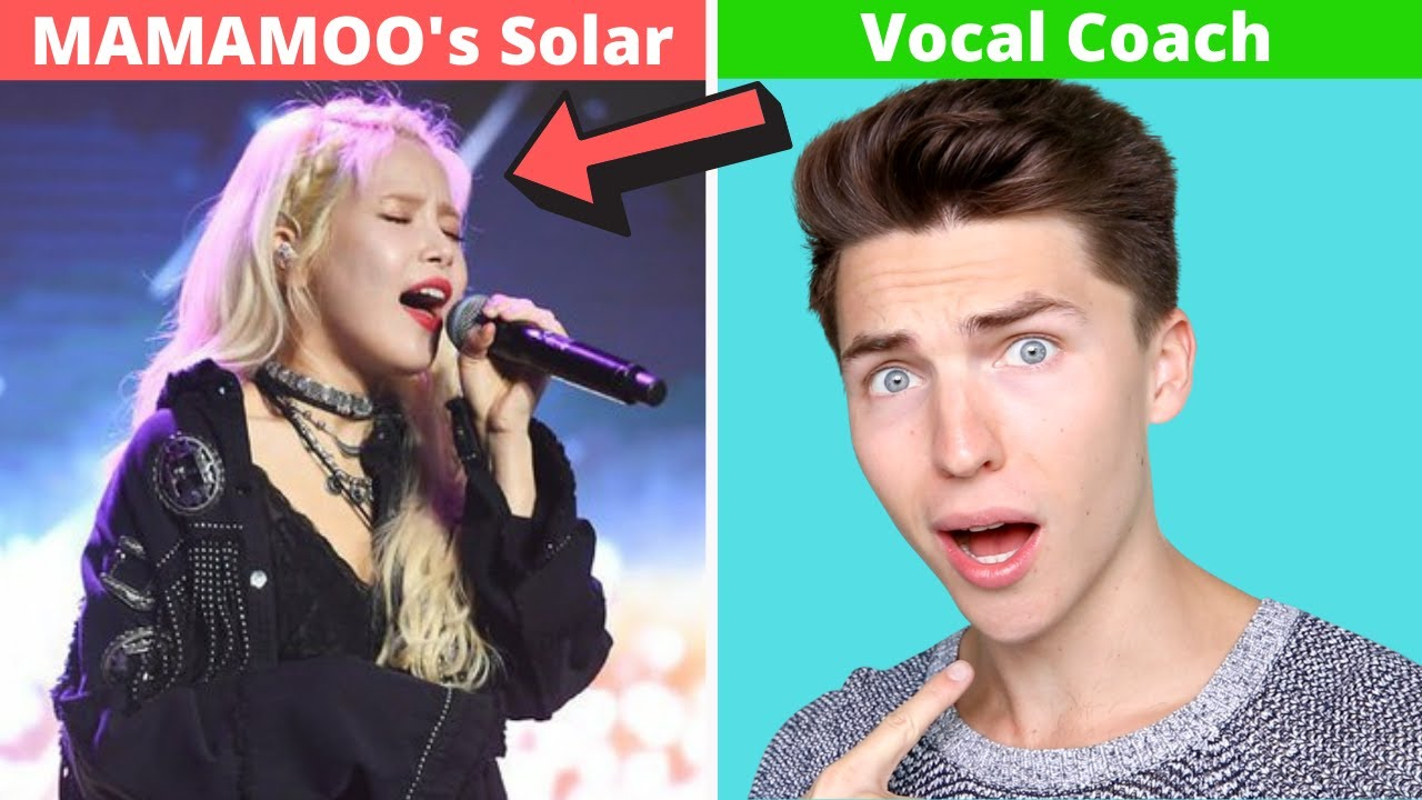 VOCAL COACH Reacts to MAMAMOO's Solar's INSANE Live Vocals