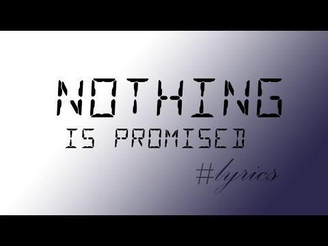 rihanna - nothing is promised [lyrics]
